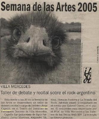 Semana de las Artes 2005