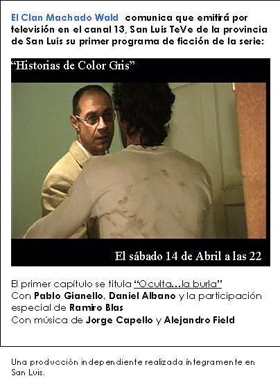 """""""Historias de Color Gris"""""""